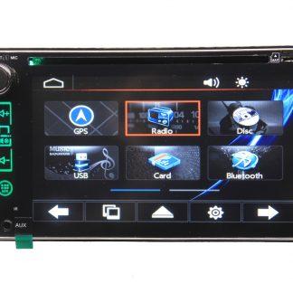 Blackspider DVD player with GPS bsdd2620gps