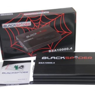 Blackspider 10000w 4ch amplifier Bsa10000.4